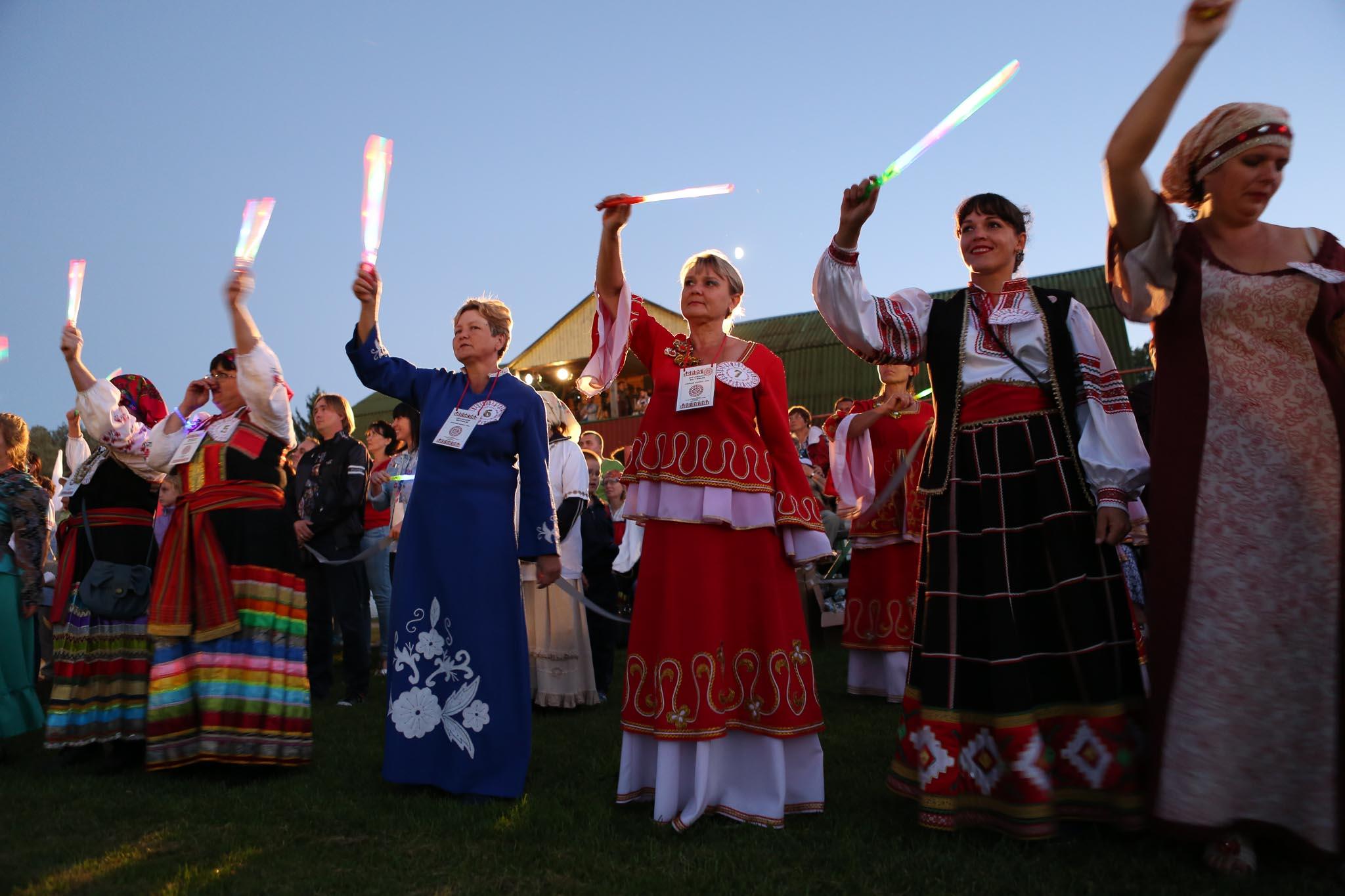Нафестивале «Белгородская слобода— Узорный хоровод» установили два рекорда