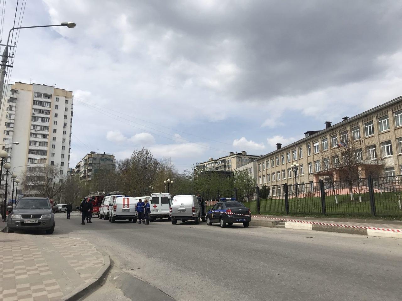 ВБелгороде эвакуировали школу №21